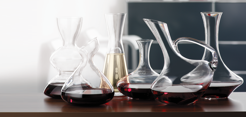 Different Decanters
