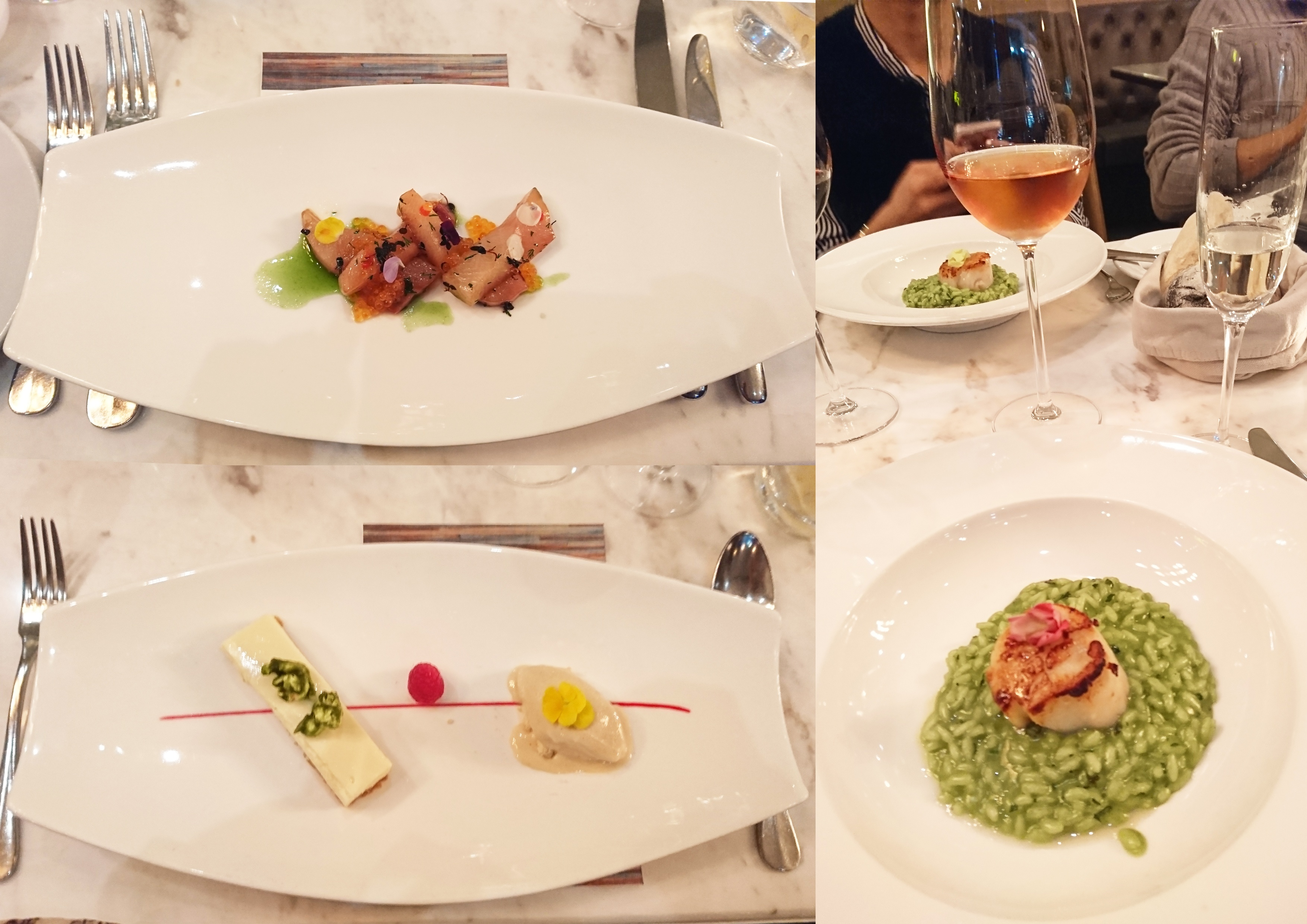 Three Course dinner at Town Restaraunt for Dine for Change