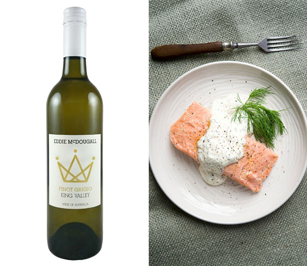 King Valley Pinot Grigio food pairing