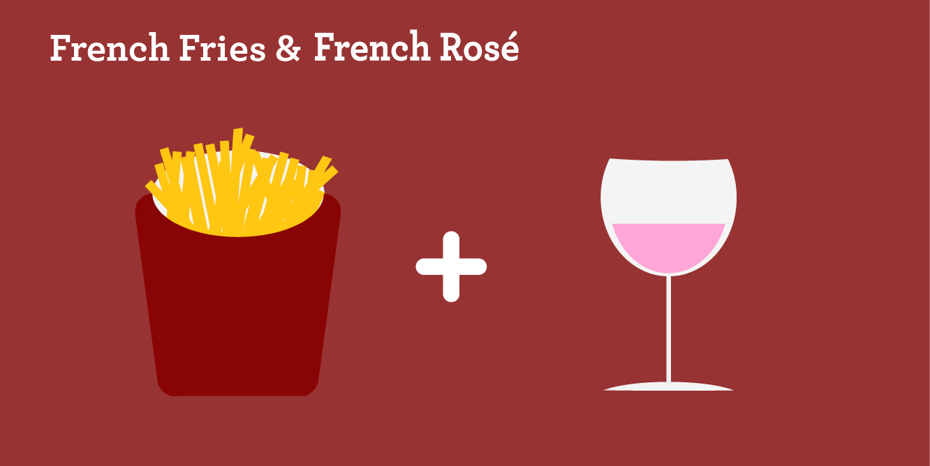 French Fries & French Rose