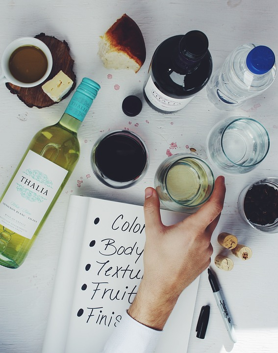 Host your own wine tasting supplies
