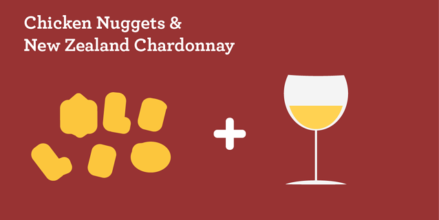 Chicken Nuggets & New Zealand Chardonnay