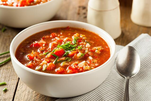 Gazpacho - Top Five Western Food and Rosé Wine Pairings - Summer Edition.jpg